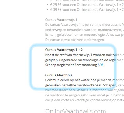 vaarbewijs leerboek beter voorbereid het water op vaarwinkel nl
