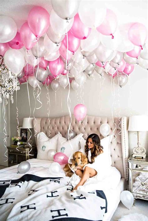 Birthday Bedroom Decoration by Rhdmaupdorg Birthday Bedroom Decoration With Balloons Room
