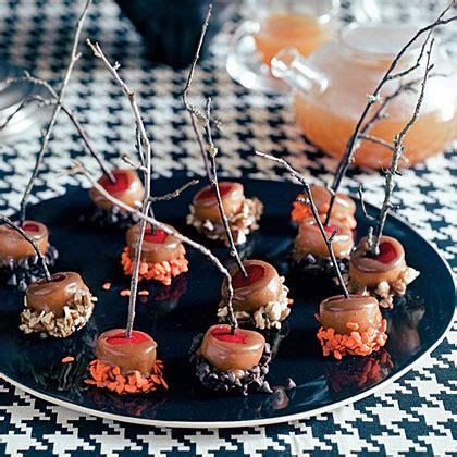 mini caramel apples recipe myrecipes