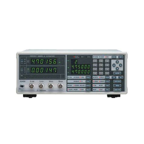 hioki capacitance tester 3506 hioki 3506 capacitance hitester 1khz and 1mhz measurement frequency at the test