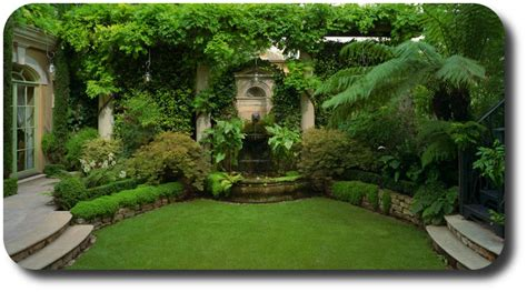 backyard gardens beautiful backyard garden home round