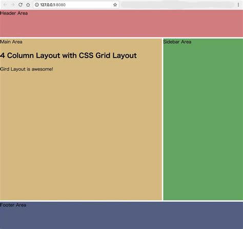 css layout npm css grid layoutで4カラムのレイアウトを一瞬で作る方法 casual developers notes