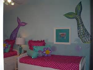 mermaid bedroom decor room baby dazzle girl s mermaid room