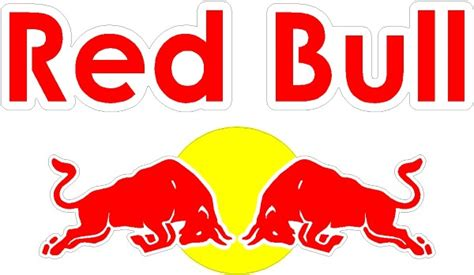 Auto Logo Roter Stier by Red Bull Decal Sticker 08
