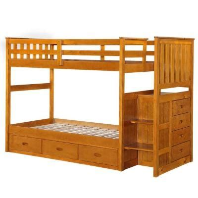 Boraam Fruitwood Twin Size Bunk Bed For Sale In Machesney American Bunk Beds For Sale