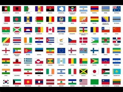 flags of the world on youtube world flags flash card for children youtube