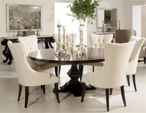 Elegant Round Dining Room Tables by Dining Tables