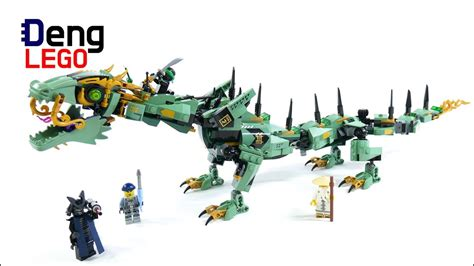 lego dragon tutorial lego 70612 ninjago movie green ninja mech dragon quick