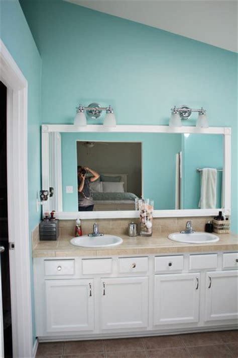lighten up your bathrooms by painting oak cabinets white bathrooms paint colors