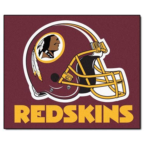 Redskins Area Rug Fanmats Washington Redskins 5 Ft X 6 Ft Tailgater Rug 5873 The Home Depot
