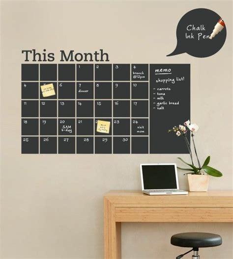 chalkboard diy calendar chalkboard wall calendar memes
