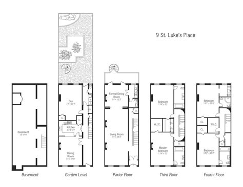 townhouse layout studio design gallery best