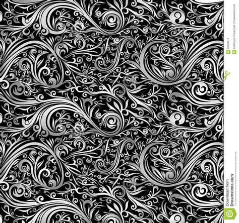 batik design black and white wallpaper abstract batik black white swirl stock photo