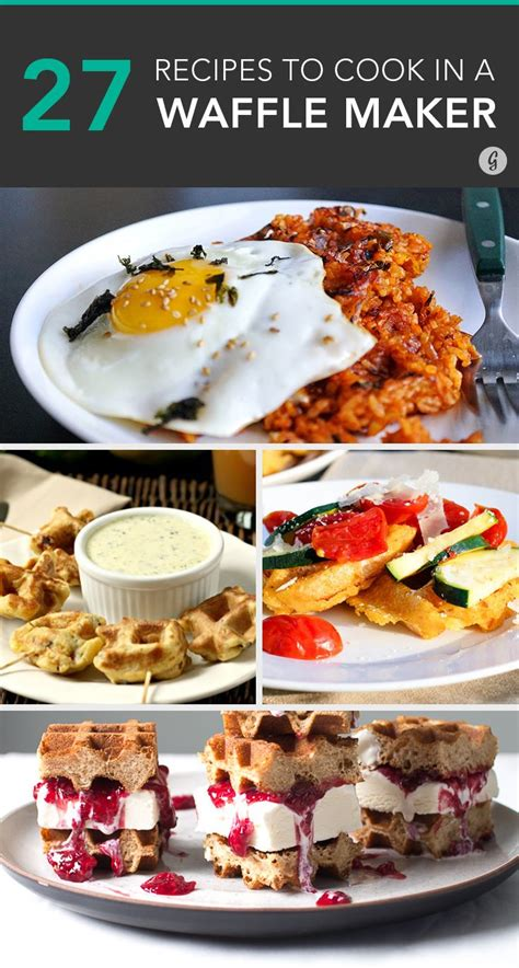25 ingenious things you can make in a waffle iron besides waffles waffle recipes waffle