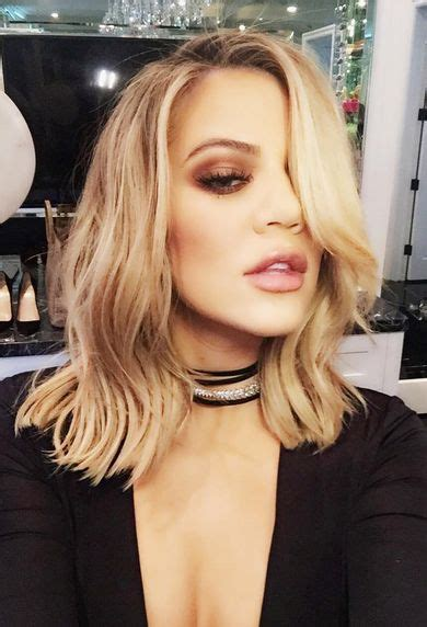 khloekardashian new hairstyle khloe kardashian hair and her hair on pinterest