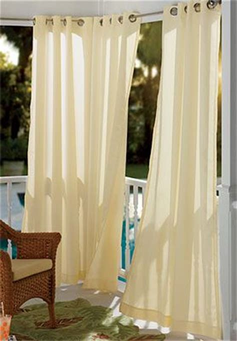 outdoor white curtains 8 best sexy window treatments images on pinterest
