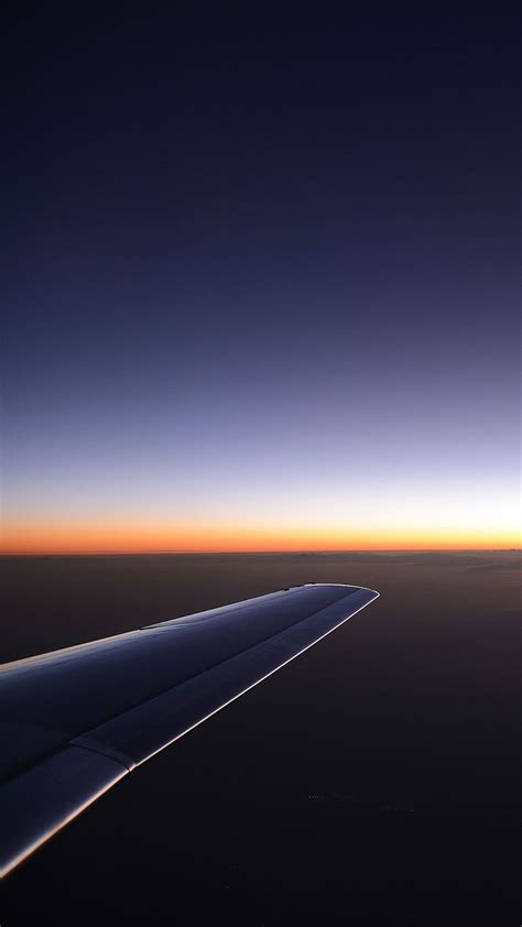 wallpaper for android samsung mobile airplane wing sunset samsung android wallpaper free download