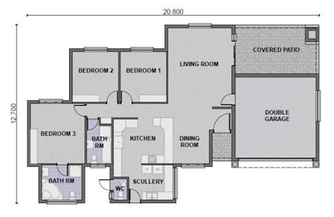 single story 4 bedroom house plans south africa functionalities net modern 3 bedroom house plans south africa www