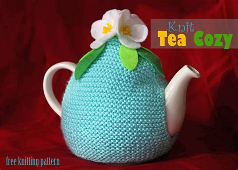 tea cosy knitting patterns easy tea cozy knitting pattern