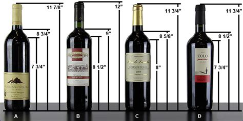 wine bottle dimensions aw 106 bottles