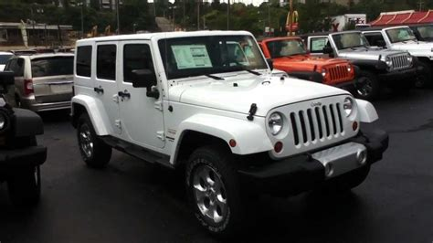 Jeep Wrangler Unlimited Incentives Craig Dennis Exclusive 2013 Jeep Wrangler Unlimited
