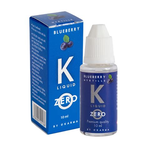 K Liquid Klorofil 2 k zero liquid blueberry 16 x 10ml bottle k by ekarma