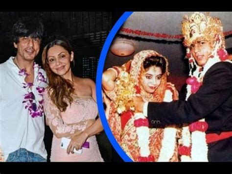 shahrukh khan wedding album www shahrukh khan and gauri khan 25th wedding anniversary