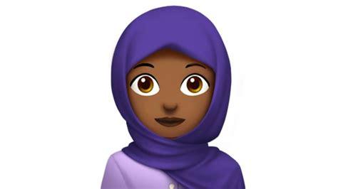 wallpaper whatsapp kartun hijab wearing woman among apple s new emojis news al