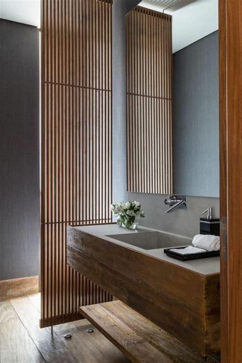 idee deco salle de bain bambou