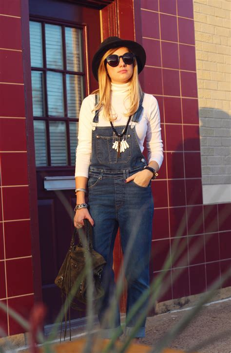 Turtleneck Overall turtleneck and overalls high end hippie