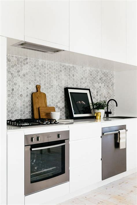 Beautiful Kitchen Backsplashes 25 Stylish Hexagon Tiles For Kitchen Walls And