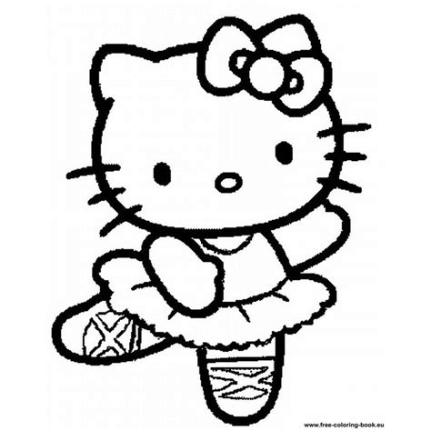 large hello kitty template pictures to pin on pinterest