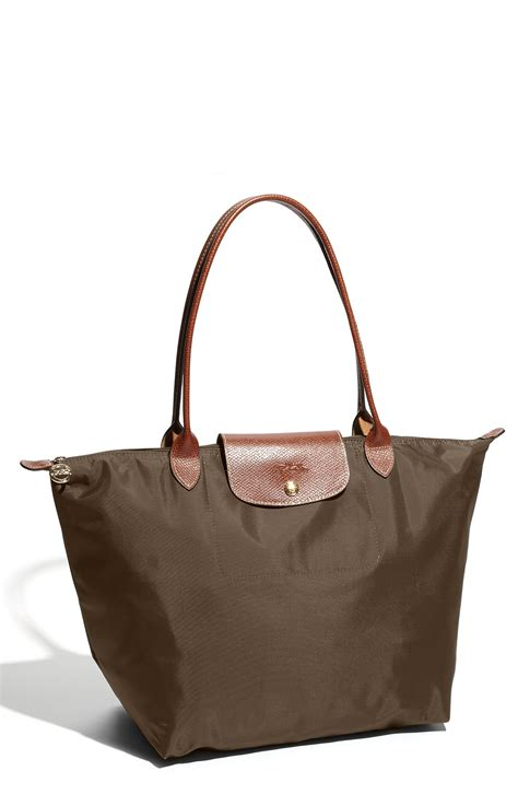 Longch Le Pliage Slh longch le pliage large tote in gray slate lyst