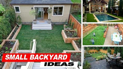backyard mini r wow small backyard ideas with grass youtube