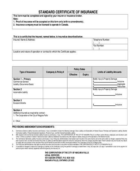 proof of auto insurance template free proof of auto insurance template free business template