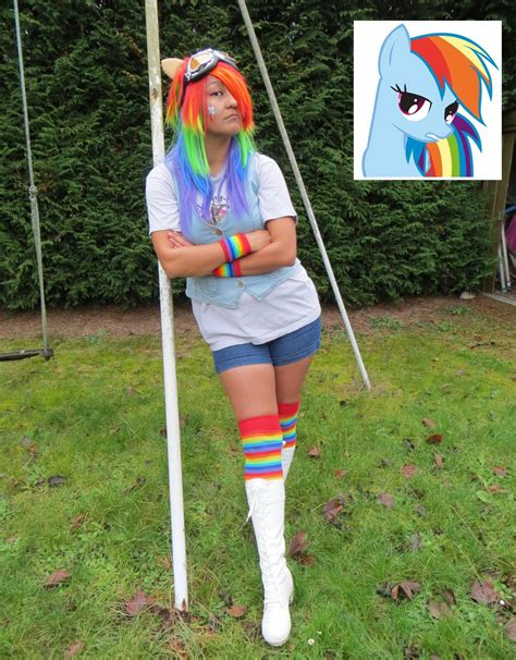 Fk 8d Rainbow Dash Dress mlp rainbow dash 20 cooler by spinelie on deviantart