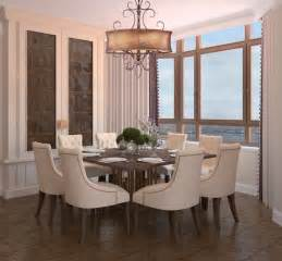 Dining Room Drum Light Glamorous Drum Shimmer Shaded Bronze Scroll Chandelier Contemporary Dining Room