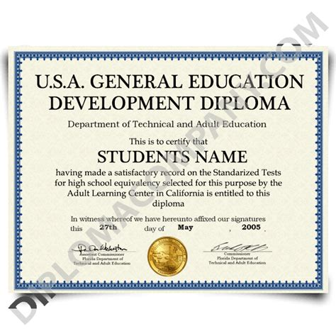 sle of ged certificate usa ged diploma diplomacompany