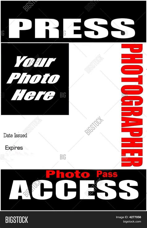 press badge template free press pass template www pixshark images galleries