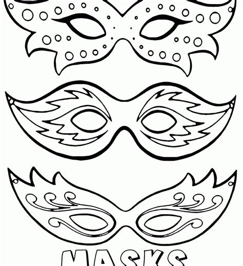 printable ladybird mask template printable masquerade masks coloring pages kids color