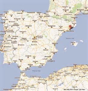 Map Of Barcelona Spain by Gallery For Gt Barcelona Spain Map