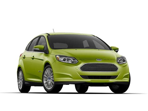 ford focus ev gets new quot outrageous green quot paint color