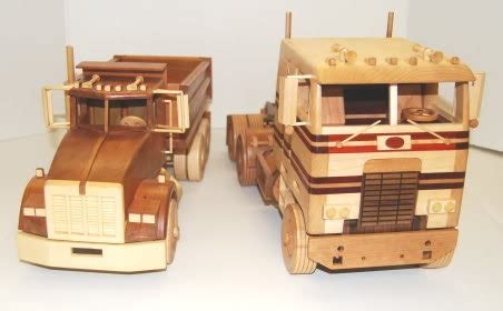 craftmen wooden toy car  truck plans