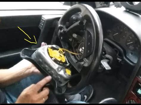 2934 Airbag Module Chevrolet Zafira demontaż poduszki powietrznej kierownicy opel astra g