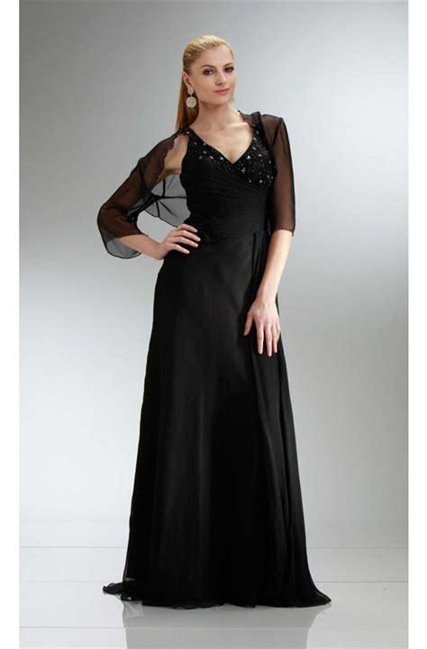beaded bolero jackets for evening dresses sheath v neck black chiffon beaded evening