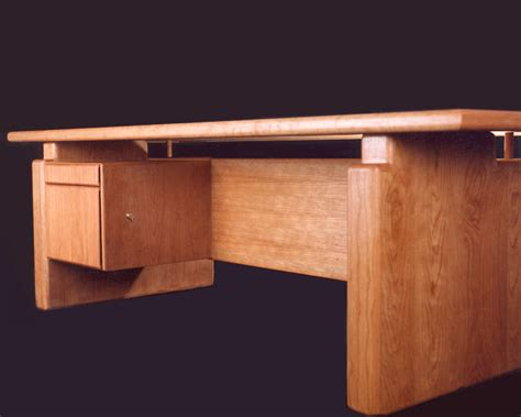custom solid wood executive desks and conference table