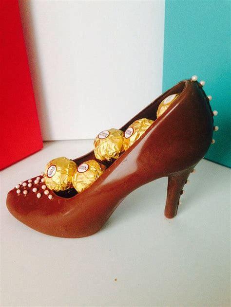 edible chocolate 2 high heel shoe s gift box