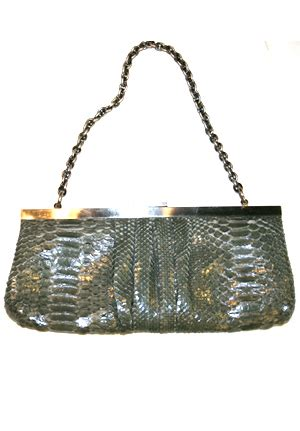 Dania Reiter Python Clutch tracey ross shop west clothing boutique