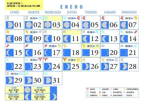Calendario Enero 2007 Calendario Lunar 2015