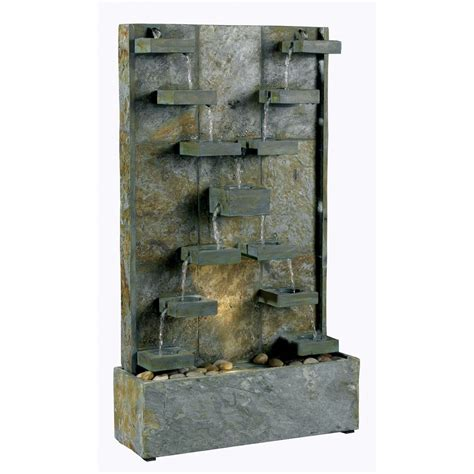 slate floor fountains slate free standing water fountain